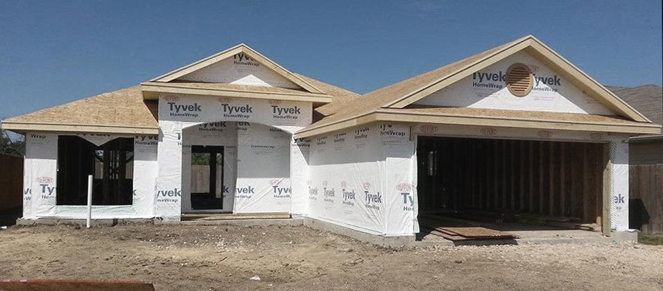 K. Baker Appraises Unfinished Homes