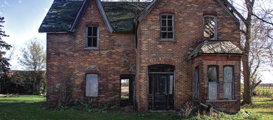 We Appraise Derelict Houses