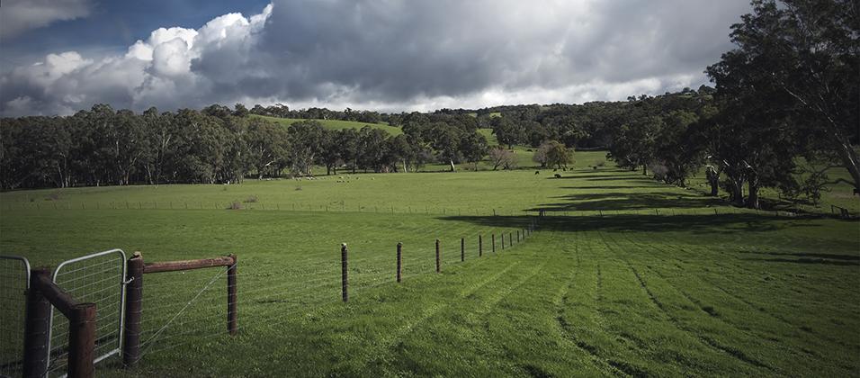 K. Baker Apprases Land and Farm Value